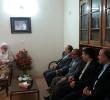 ديدار محمود سلطانی فر وزير ورزش و جوانان با آيت الله دري نجف آبادي